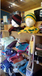 local products, knitwear available Craft Shop, Folk Village, Glencolmcille, Donegal